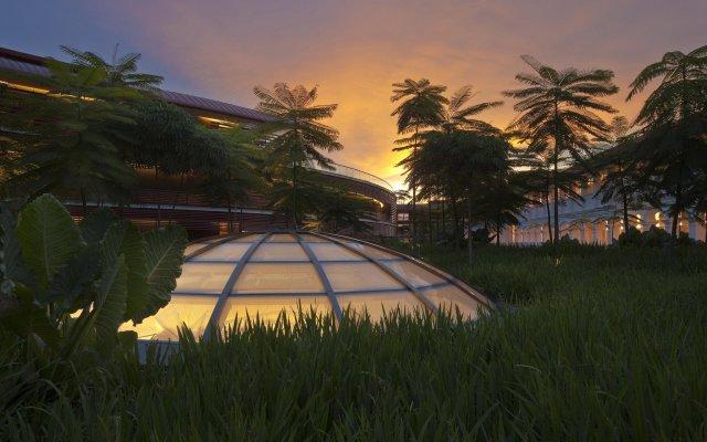 Отель Capella Singapore вид на фасад