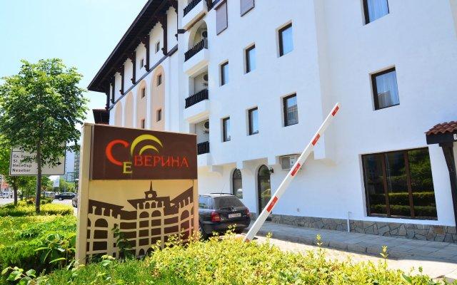 Апартаменты Holiday Apartments Severina вид на фасад