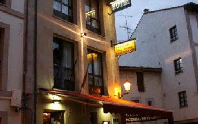 Hotel Los Molinos вид на фасад