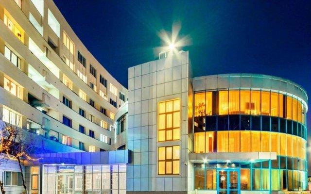 Гостиница Черное море вид на фасад