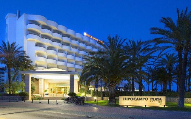 Отель Hipotels Hipocampo Playa вид на фасад