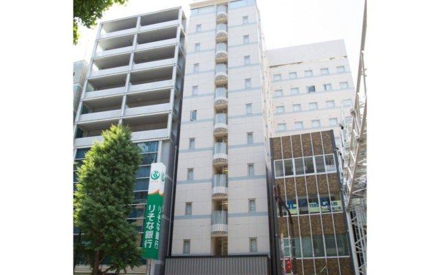Hotel Hokke Club Asakusa вид на фасад