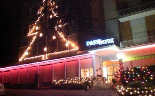 Park Hotel Кьянчиано Терме вид на фасад