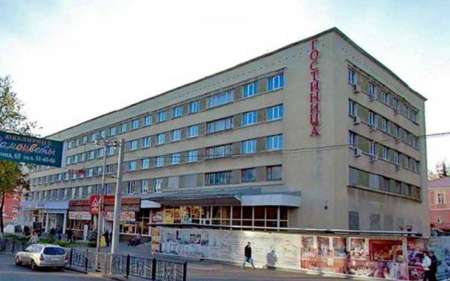 Гостиница Октябрьская в Курске - забронировать гостиницу Октябрьская, цены и фото номеров Курск вид на фасад
