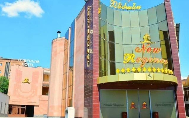Отель New Regence Ереван вид на фасад