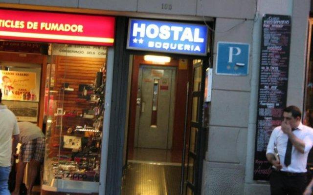 Отель Hostal Boqueria вид на фасад
