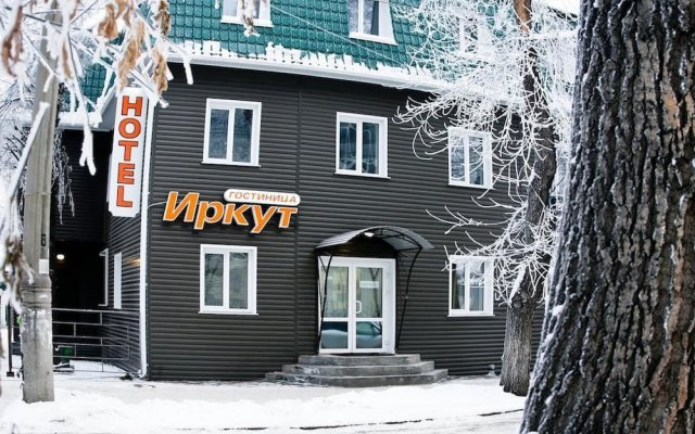 Гостиница Иркут в Иркутске 4 отзыва об отеле, цены и фото номеров - забронировать гостиницу Иркут онлайн Иркутск вид на фасад