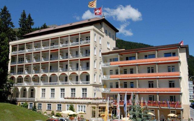 Отель National Швейцария, Давос - отзывы, цены и фото номеров - забронировать отель National онлайн вид на фасад