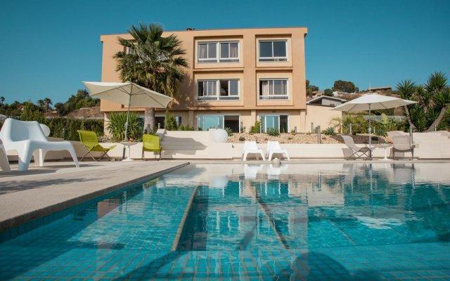 Отель Le Case Di Ela Агридженто вид на фасад