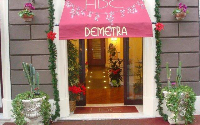 Hotel Demetra Capitolina вид на фасад