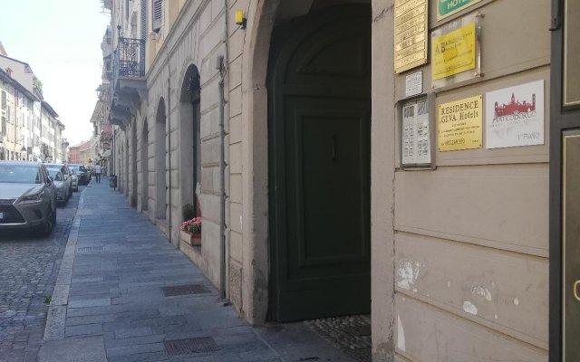 Отель Antico Borgo вид на фасад
