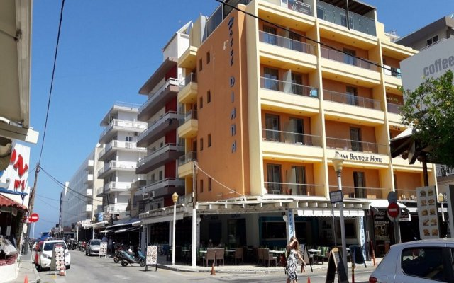 Отель Diana Boutique Hotel Греция, Родос - отзывы, цены и фото номеров - забронировать отель Diana Boutique Hotel онлайн вид на фасад