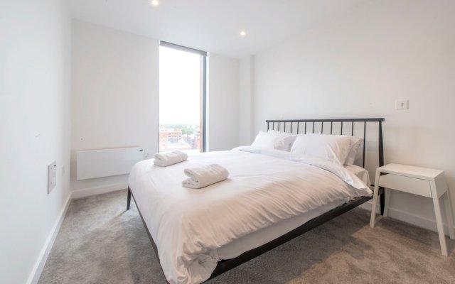 Апартаменты Modern 2 Bedroom Apartment in Northern Quarter комната для гостей