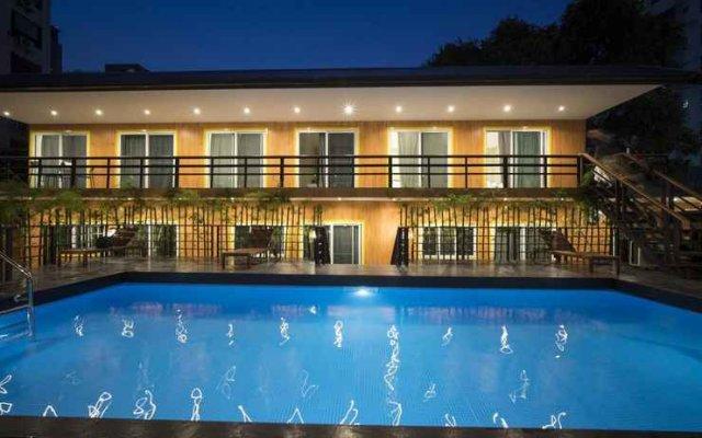 Отель Resort M - MRT Huai Kwang Таиланд, Бангкок - отзывы, цены и фото номеров - забронировать отель Resort M - MRT Huai Kwang онлайн вид на фасад