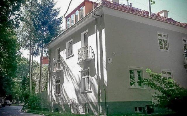 Отель Sopocki Dworek Sopot вид на фасад