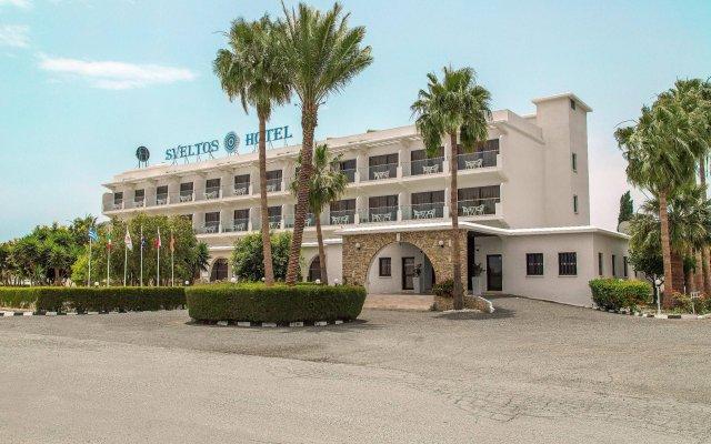 Sveltos Hotel вид на фасад