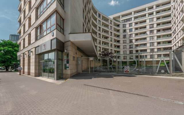 Апартаменты Chill Apartments Warsaw Center вид на фасад