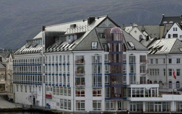 Отель Scandic Ålesund вид на фасад