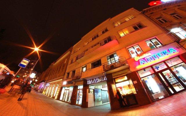 Гостиница Плазма вид на фасад