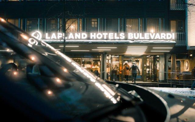Отель Lapland Hotels Bulevardi вид на фасад