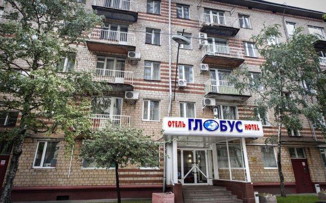 Апартаменты Глобус - апартаменты вид на фасад