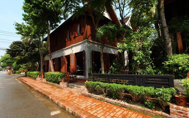 Отель Burasari Heritage Luang Prabang вид на фасад