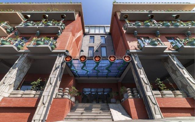 Отель Brim Hotel Грузия, Тбилиси - отзывы, цены и фото номеров - забронировать отель Brim Hotel онлайн вид на фасад