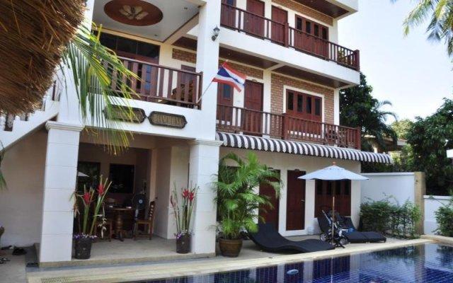 Отель Baan Chayna Resort Пхукет вид на фасад
