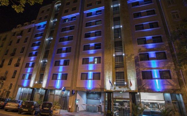 Отель Olissippo Marques de Sa вид на фасад
