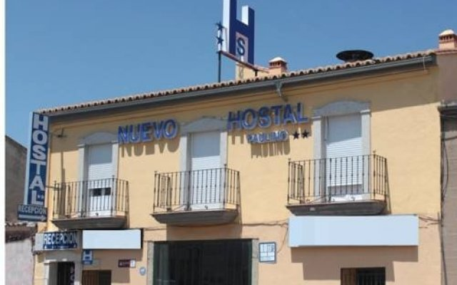 Отель Nuevo Hostal Paulino Трухильо вид на фасад