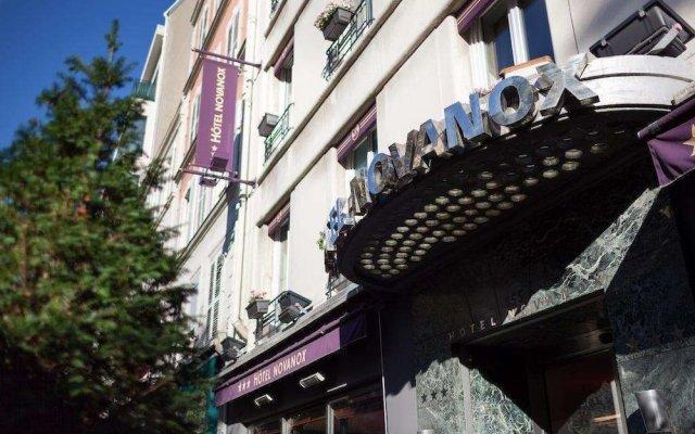 Отель Hôtel Novanox вид на фасад