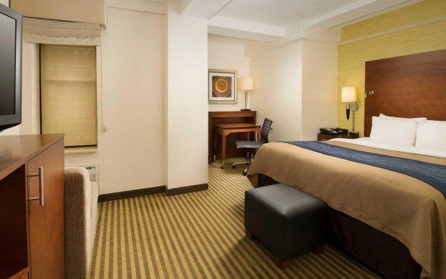 Отель Comfort Inn Downtown DC/Convention Center США, Вашингтон - отзывы, цены и фото номеров - забронировать отель Comfort Inn Downtown DC/Convention Center онлайн комната для гостей