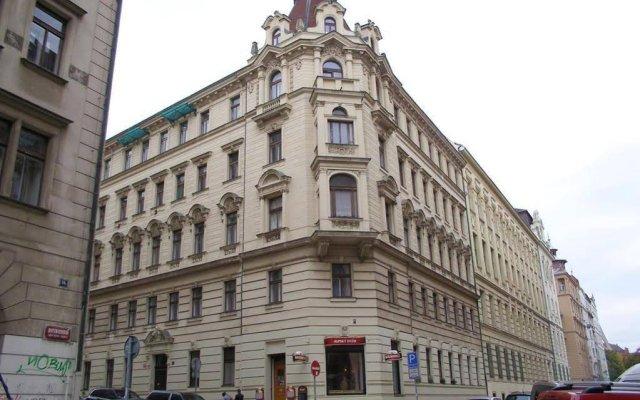 Отель Luxury Loft Прага вид на фасад