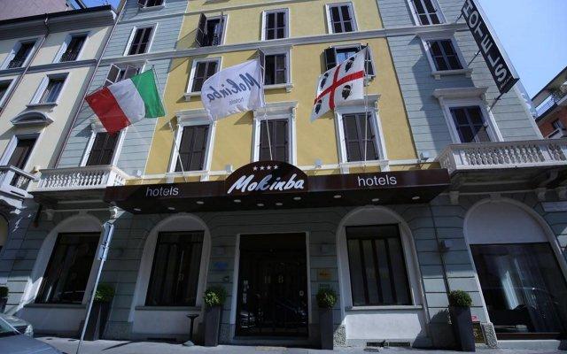 Отель Baviera Mokinba Милан вид на фасад