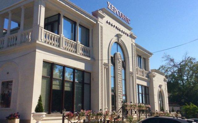 Гостиница Херсонес в Севастополе - забронировать гостиницу Херсонес, цены и фото номеров Севастополь вид на фасад