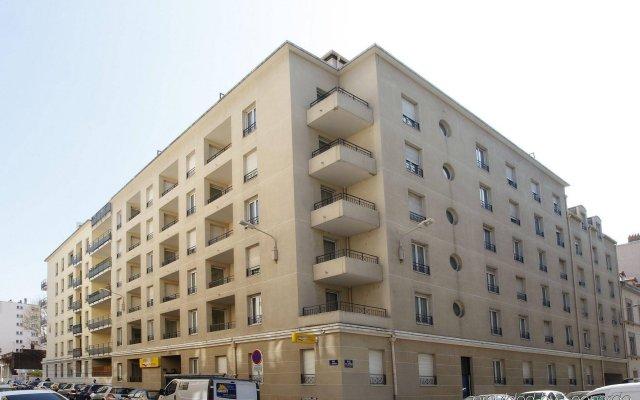 Отель Appart'City Lyon - Part-Dieu Garibaldi вид на фасад