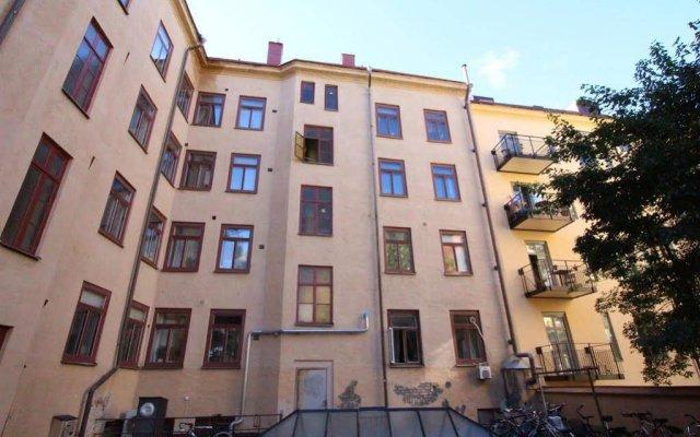 Апартаменты Central Stockholm Apartments Sodermalm Стокгольм вид на фасад