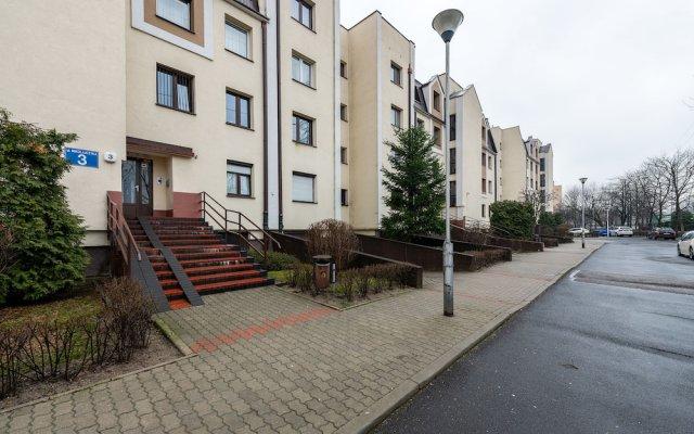 Апартаменты P&O Apartments Goclaw 2 вид на фасад