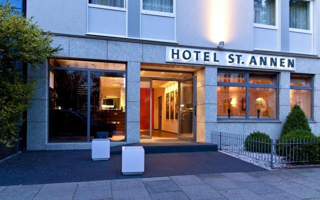 Отель St. Annen Германия, Гамбург - отзывы, цены и фото номеров - забронировать отель St. Annen онлайн вид на фасад
