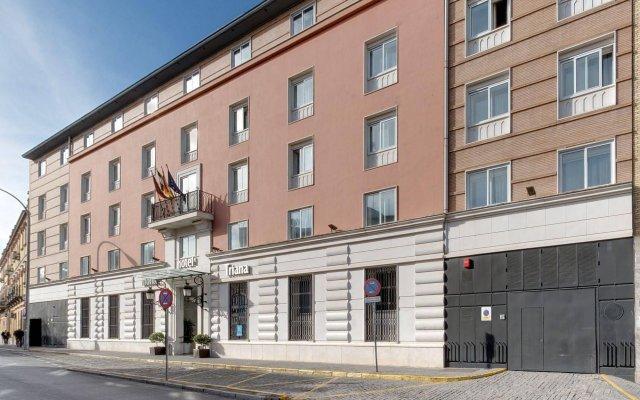 Отель Monte Triana Испания, Севилья - отзывы, цены и фото номеров - забронировать отель Monte Triana онлайн вид на фасад