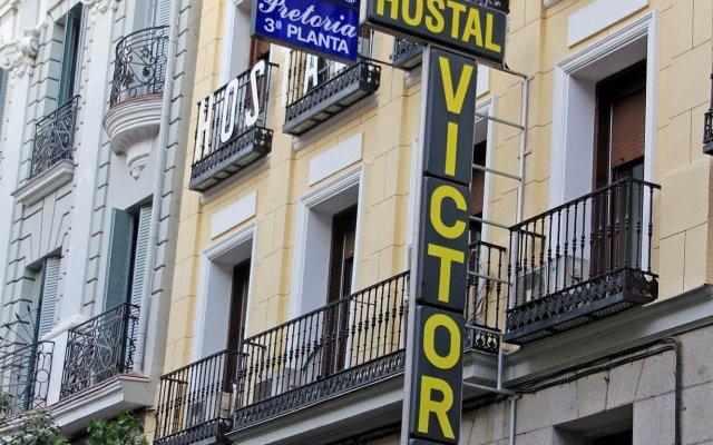 Отель Hostal Victoria I вид на фасад