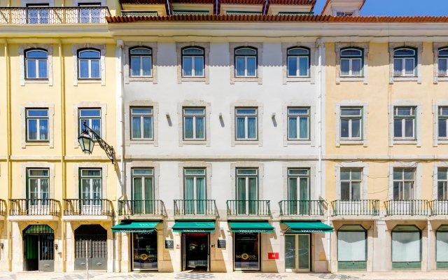 Отель Vincci Baixa Португалия, Лиссабон - отзывы, цены и фото номеров - забронировать отель Vincci Baixa онлайн вид на фасад