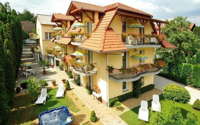 Отель Apartman Timpa вид на фасад