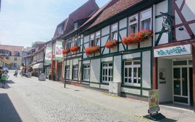Hotel Deutsches Haus Нортейм вид на фасад