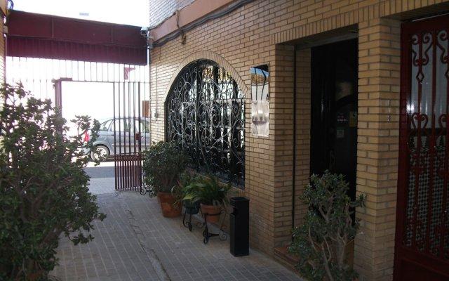 Отель Apartamentos Puerta del Sur вид на фасад
