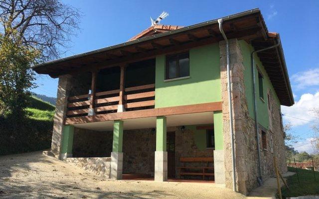 Отель Casa Rural Naguar Кангас-де-Онис вид на фасад