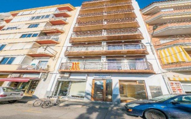 Отель Apartaments AR Europa Sun Испания, Бланес - отзывы, цены и фото номеров - забронировать отель Apartaments AR Europa Sun онлайн вид на фасад