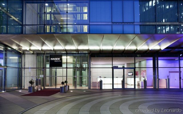Отель Innside By Melia Parkstadt Schwabing Мюнхен вид на фасад
