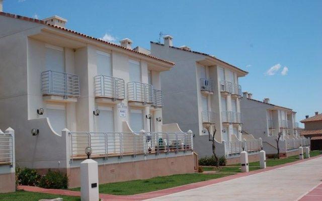 Отель Cala Montero вид на фасад