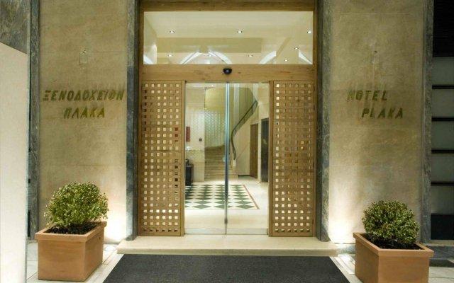 Отель Plaka Hotel Греция, Афины - 4 отзыва об отеле, цены и фото номеров - забронировать отель Plaka Hotel онлайн вид на фасад